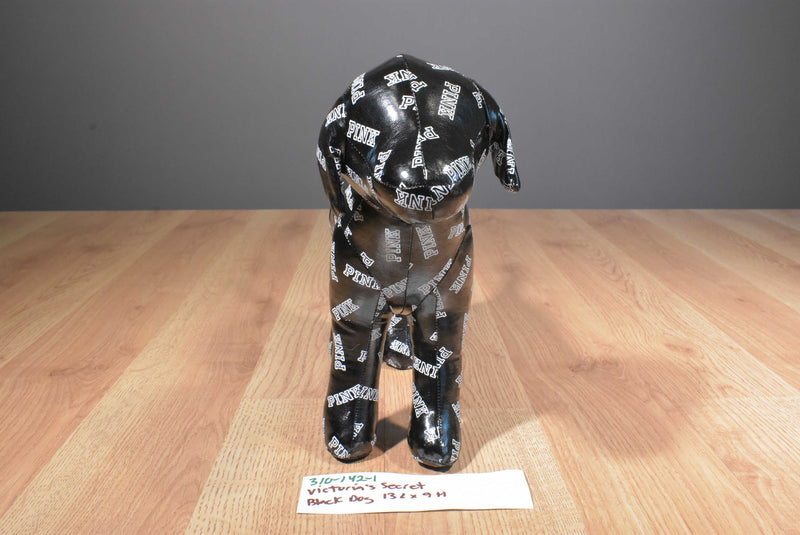 Victoria's Secret Vinyl Black Dog Plush