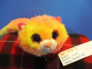 Fiesta Fursian Orange Sherbert Cat plush(310-1734-2)