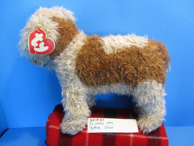 Ty Classic 1992 Toffee the Tan and Brown Dog Plush(310-1937)