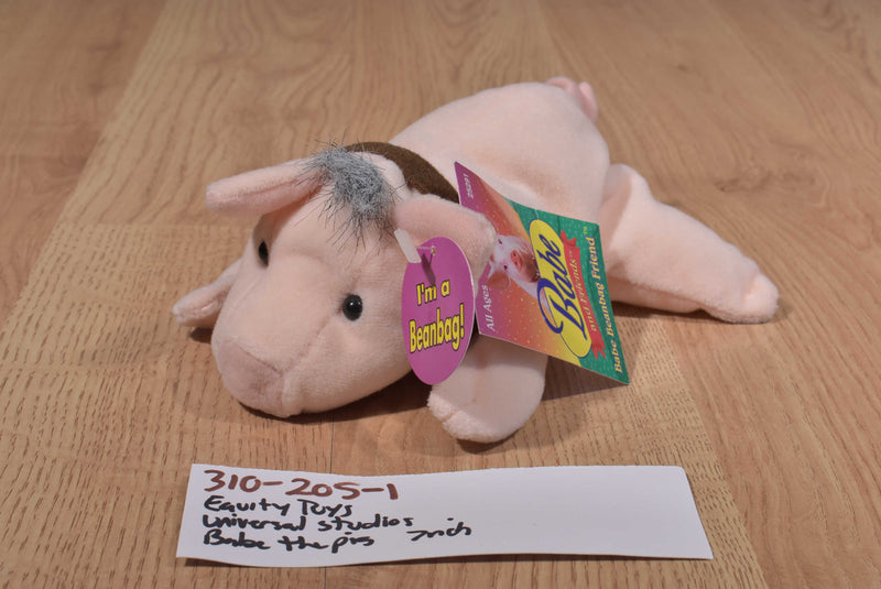 Equity Toys Babe the Pig 1998 Beanbag Plush