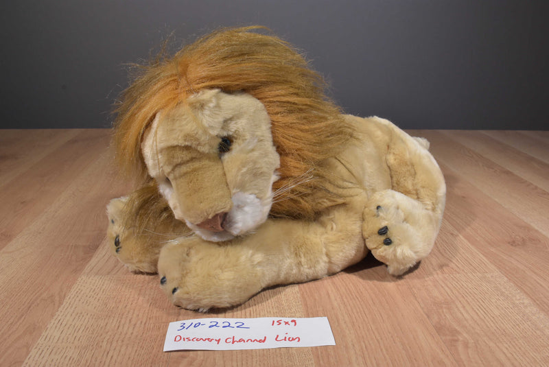 Discovery Channel Lion 2001 Plush