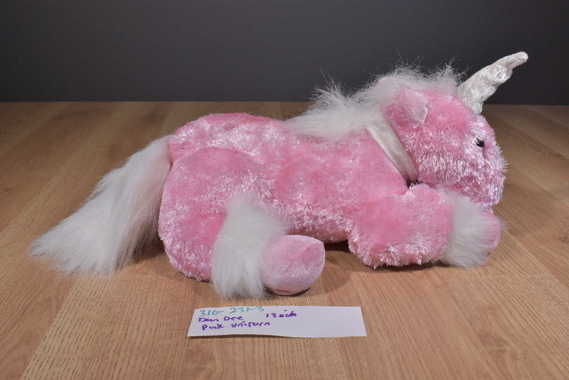 Dan Dee Pink Unicorn 2009 Plush