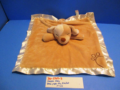Douglas Baby Brown Puppy Dog Security Blanket Plush
