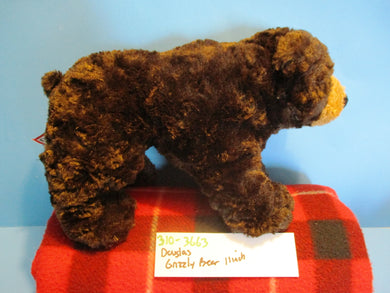Douglas Brown Grizzly Bear Beanbag Plush