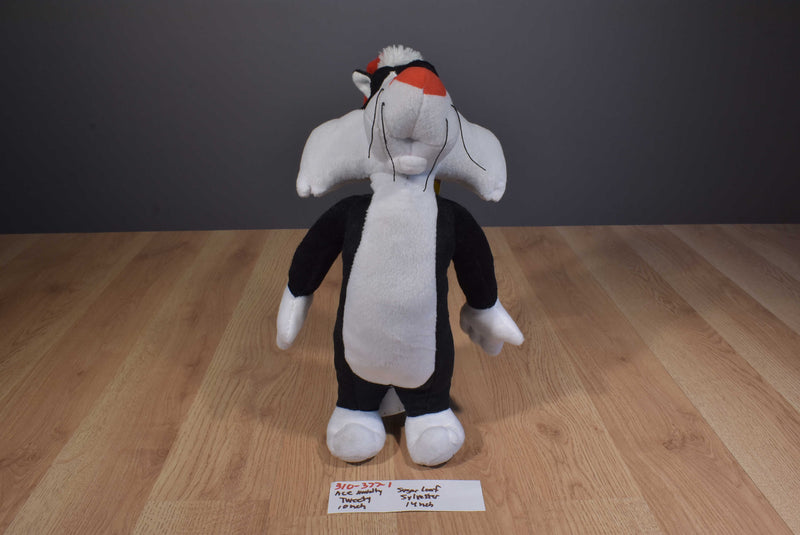 Sugar Loaf Looney Tunes Sylvester 2012 and Ace Novelty Tweety 1996 Plush