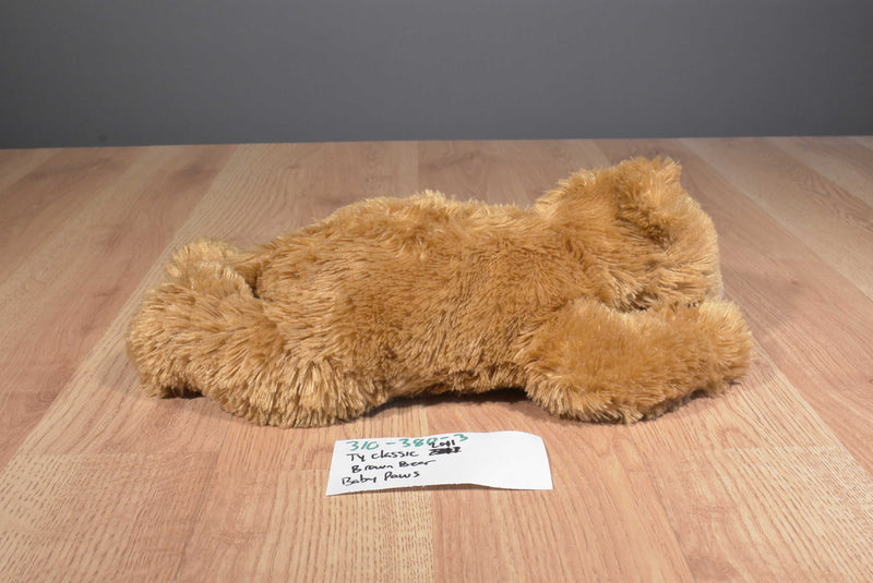 Ty Classic Baby Paws Brown 2011 Beanbag Plush
