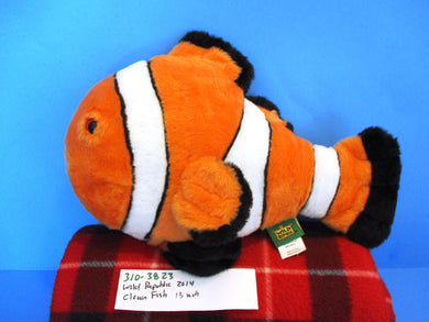 Wild Republic 2014 Clown Fish Plush (310-3823)