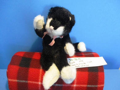 Boyd's Ernest Q Grimikin Black & White Cat 1995 Plush