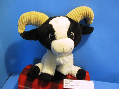 Fiesta White and Black Goat plush(310-3881)