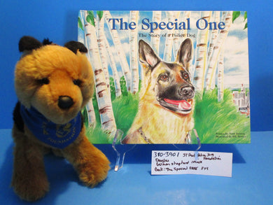 Douglas German Shepherd Plush and Book