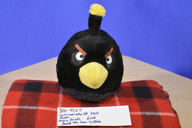 Commonwealth Rovio Angry Birds Talking  Bomb the Loon 2010 plush