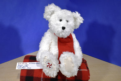 Boyd's Winter Mintly Jointed White Bear 2003 beanbag plush