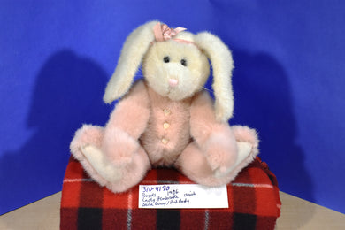Boyd's Lady Pembrooke Beige Bunny Rabbit With Pink Body 1996 beanbag plush