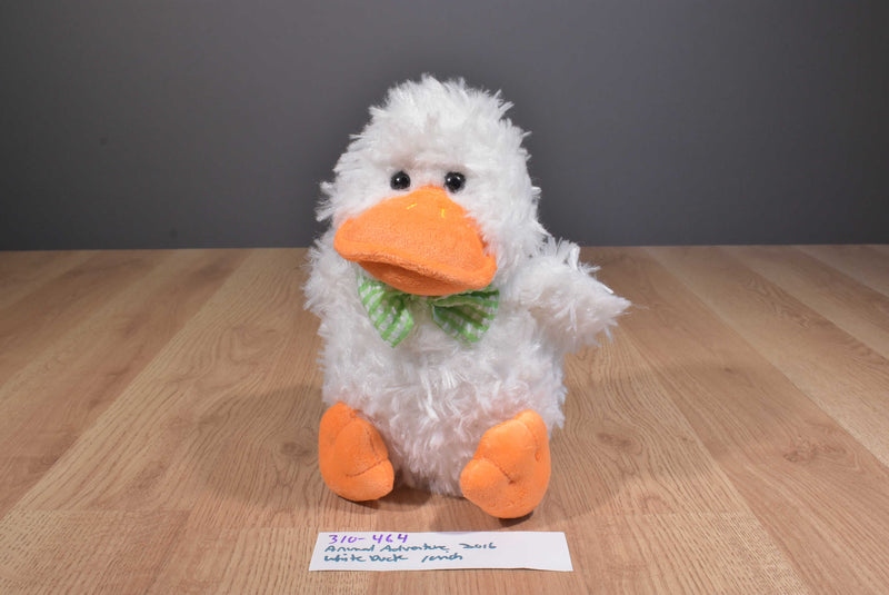 Animal Adventure White Duck 2016 Plush
