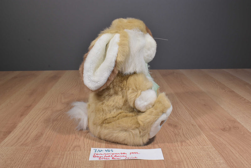 Commonwealth Brown and White Bunny Rabbit 1992 Plush