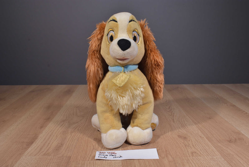 Disney Store Lady and The Tramp Lady Beanbag Plush