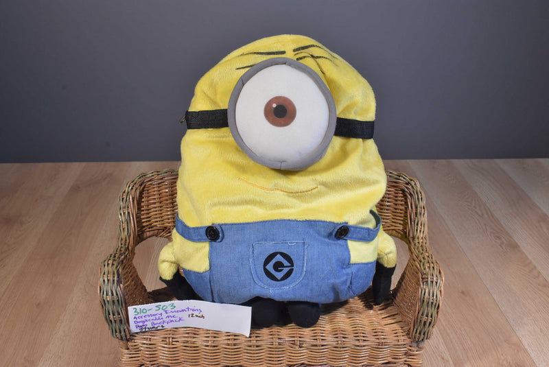 Accessory Innovations Despicable Me 2 Minion Stuart Plush Backpack