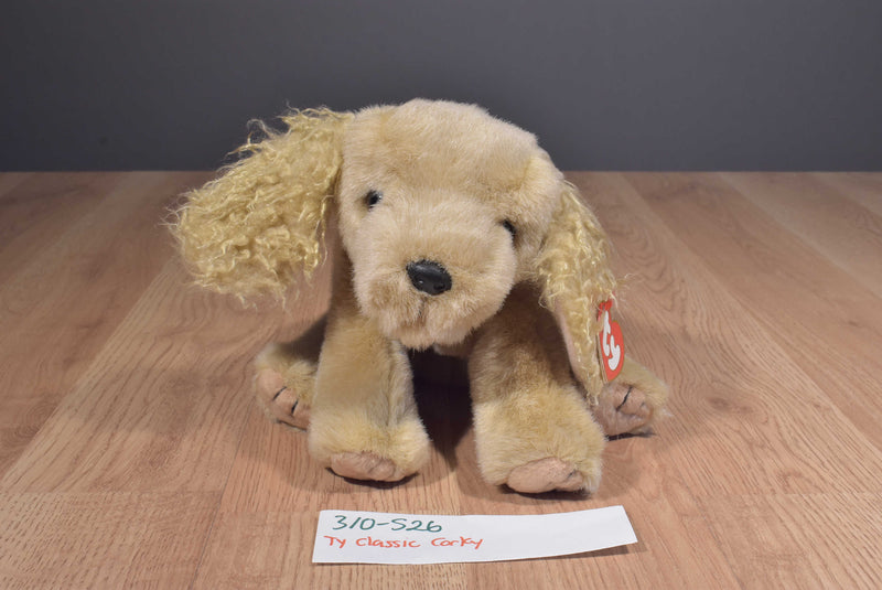 Ty Classic Corky the Cocker Spaniel 1999 Beanbag Plush