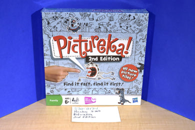 Hasbro 2009 Pictureka 2nd Edition Board Game New in Box