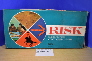 General Mills Parker Brothers 1968 Risk Plastic Pieces