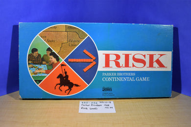 General Mills Parker Brothers 1968 Risk Wood Pieces