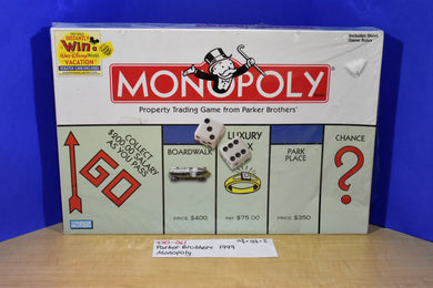 Hasbro Parker Brothers 1999 Monopoly