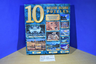 Sure Lox 10 Deluxe Jigsaw Puzzles 2003 #40731-4