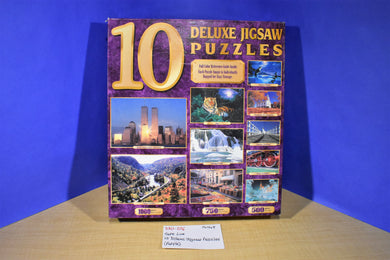 Sure Lox 10 Deluxe Jigsaw Puzzles #40731-3