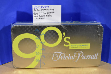 Hasbro 2004 90's Trivial Pursuit Time Capsule Edition Game