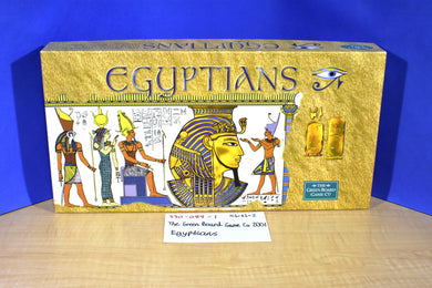 The Green Board Game Egyptians 2001 Board Game