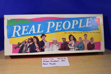 Tonka Parker Brothers 1991 Real People Board Game