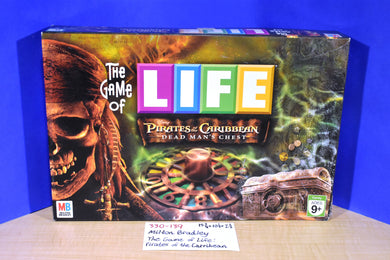 Milton Bradley 2005 The Game of Life Pirates of the Caribbean Dead Man's Chest