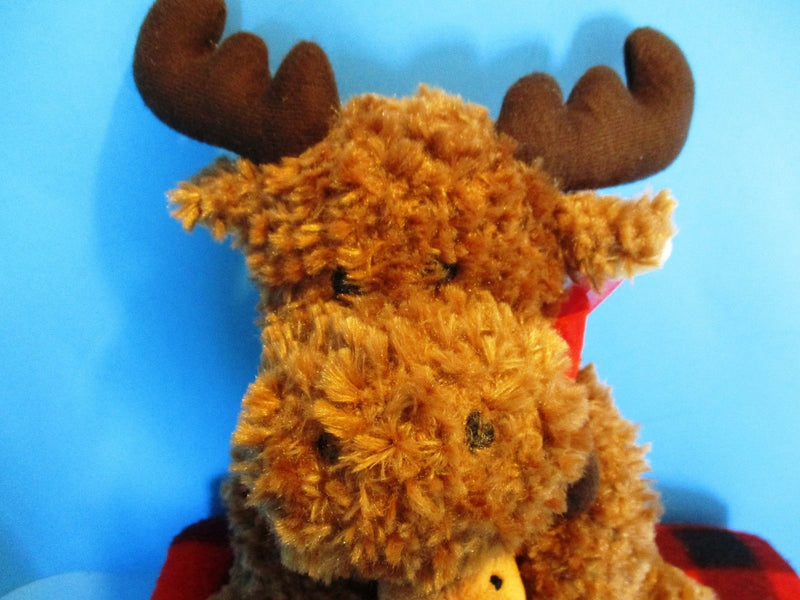 Creature Comforts Moose Hugs From Up North Moose Beanbag Plush