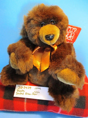 Fiesta Jointed Brown Comic Bear beanbag plush(310-3459)
