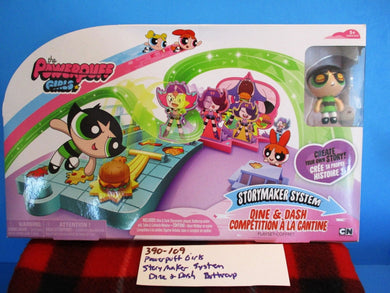 Spin Master Powerpuff Girls Story Maker System Dine and Dash