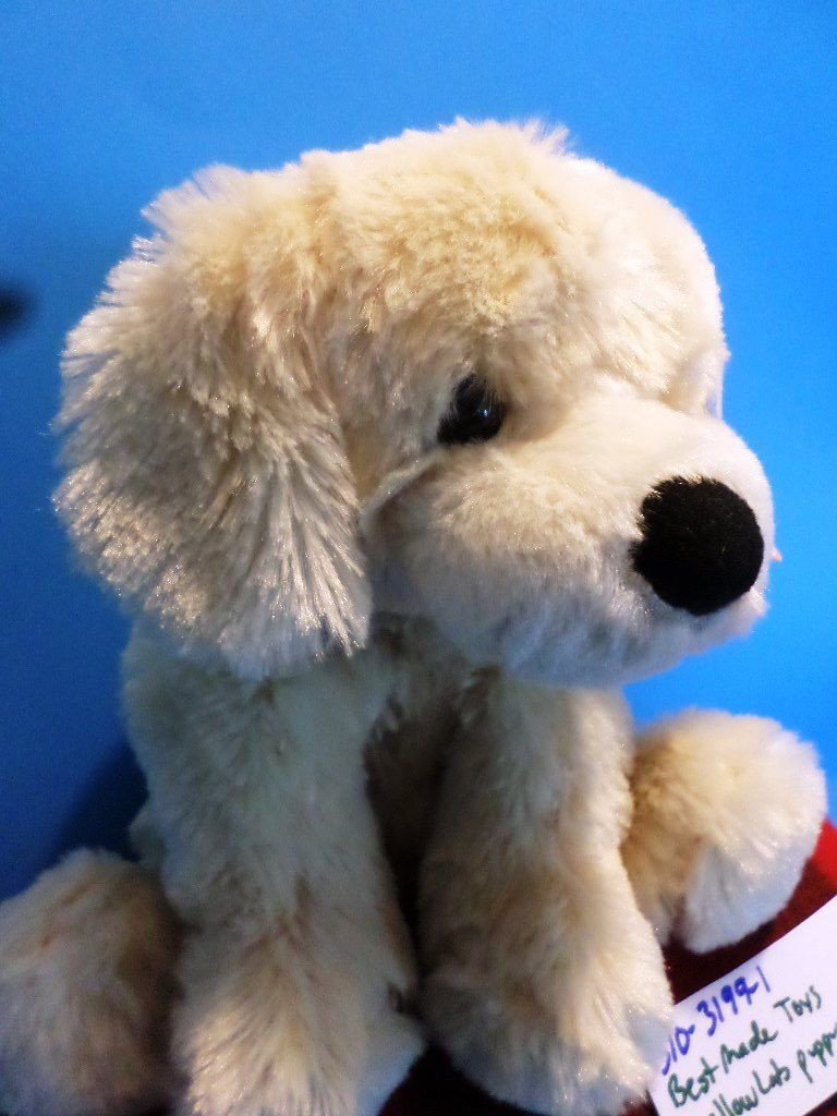 Best Made Toys Cuddle Zone Yellow Lab Labrador Retriever Puppy Dog Beanbag Plush