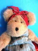 Boyd's Bears Henrietta MacDonald Brown Teddy Bear 2004 Beanbag Plush