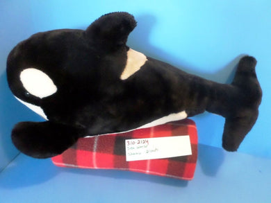 Sea World Shamu Killer Whale Orca  plush(310-2124)