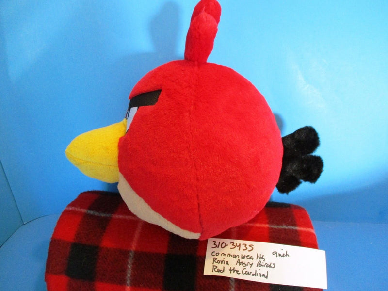 Commonwealth Rovio Angry Birds Red the Cardinal Plush