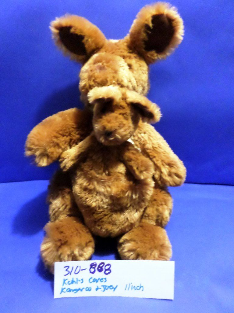 Kohl's Cares Kangaroo and Joey Beanbag Plush