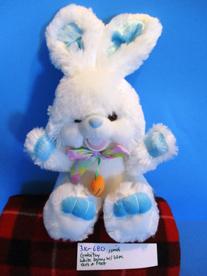 Gabitoy White and Blue Bunny Rabbit for Easter Plush