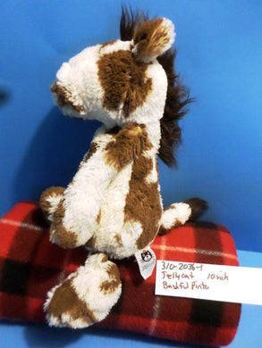 Jellycat Bashful  Pinto Paint Horse plush(310-2036-1)