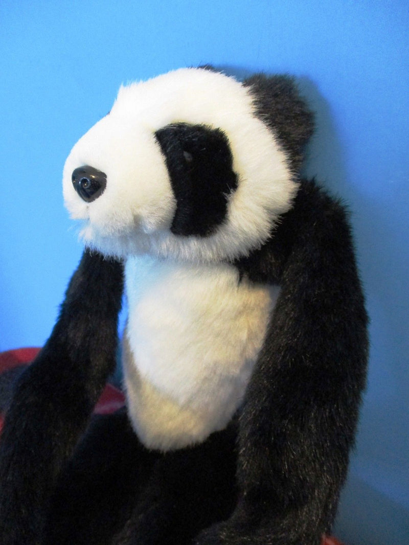 K & M Long Legged Hugging Panda 1999 Plush