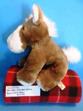 Dan Dee Collector's Choice Brown and White Horse plush(310-2726)