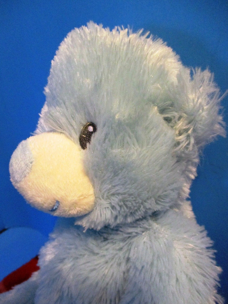 Ty Classic Sweet Baby Blue Bear My First Teddy 2014 Beanbag Plush