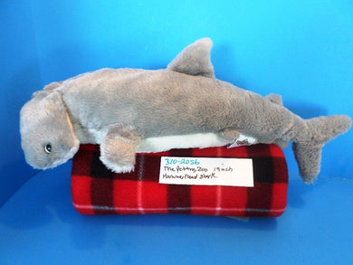 The Petting Zoo Hammerhead Shark beanbag plush(310-2056)