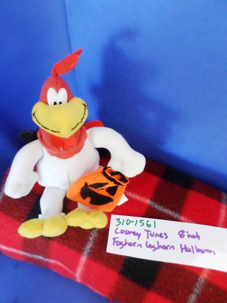 Play By Play Looney Tunes Foghorn Leghorn Halloween 1998 Beanbag Plush
