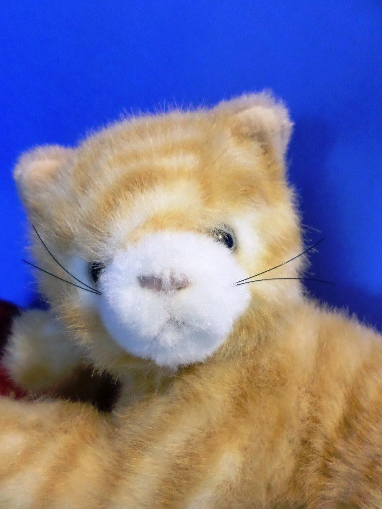 Princess Soft Toys Orange Tabby Cat Plush