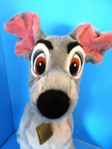 "Disney Store Lady and the Tramp ""Tramp"" Plush"