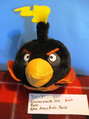 Commonwealth Rovio Angry Birds Space Talking Firebomb 2012 plush(310-3321-1)